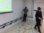 Educação de transito utilizando programação NXT com os robôs, e glossário computacional para deficientes auditivos (Portal C3)